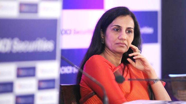 Chanda Kochhar, Chairperson of ICICI Securities Ltd. at IPO press conference at Taj Vivanta hotel on Thursday. Express photo by Pradip Das, 15th March 2018, Mumbai.