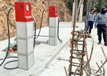 Gasolina clandestina en Caracas