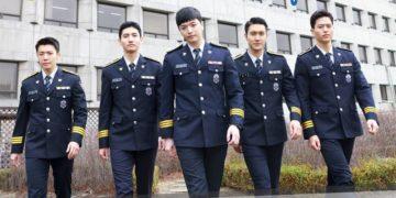 Policía de Corea del Sur