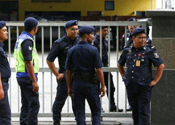 Policía de Malasia