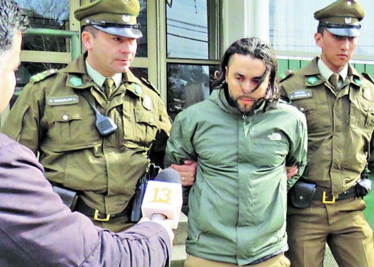 Activista mapuche Emilio Berkhoff quedó en prisión preventiva por narcotráfico