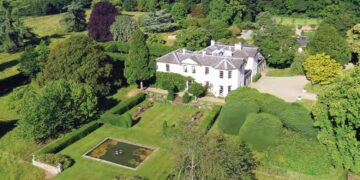 mansion de corinna larsen en bridgnorth, campiña al oeste de Inglaterra